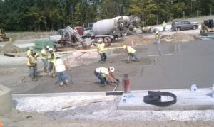 If you are looking for a quality concrete pour, we are all about getting your job done right the first time. As a concrete contractor Dayton, Toledo, Cleveland, Columbus Ohio, Pennsylvania, West Virginia we can save you time and money with our newest technology laser screed and riding power trowels.